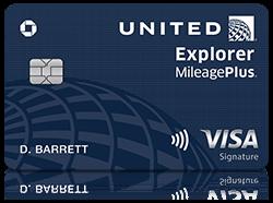 United Explorer Credit Card United Travel Credit Cards